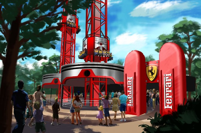 Spagna, nasce Ferrari Land: il parco tematico dedicato al Cavallino