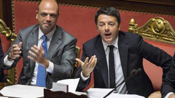 """Unioni civili, l'ultimo allarme di Renzi: """"Temo il dietrofront del M5S"""""""