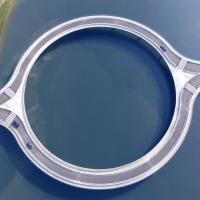 Uruguay, una rotatoria sull'acqua: il ponte è circolare