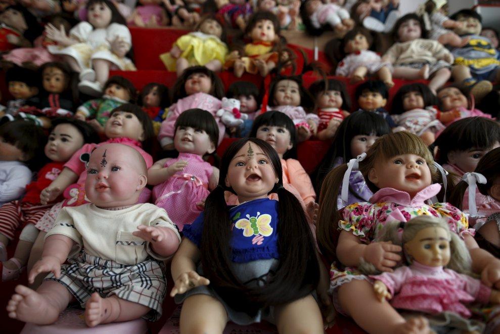 """Thailandia, tutti pazzi per le """"Angel doll"""""""