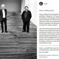 Danimarca, Ai Weiwei sospende mostra contro legge confisca beni rifugiati