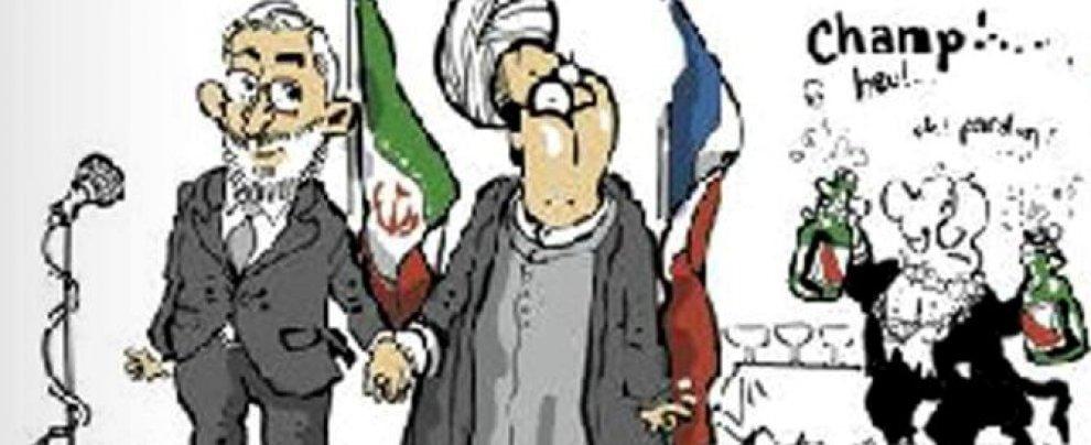 Rouhani, anche la Francia si imbarazza: la satira di Le Monde