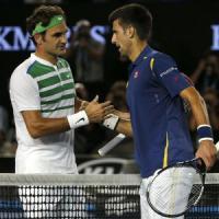 Omaggio ai Grandi Vecchi nel giorno di Djokovic