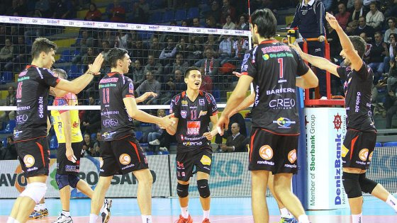 Volley, Champions League; play off 12: sorteggio ok per Trento, turche per Lube e Modena