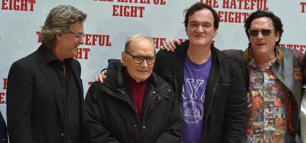"""Tarantino a Roma: """"Ho fatto le Iene western, ma mi è uscito un horror"""""""