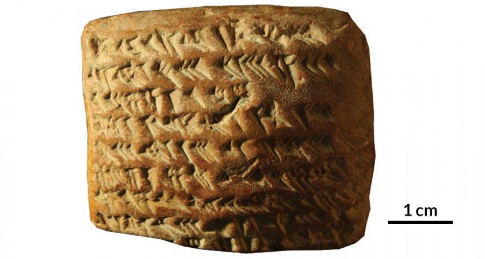 Tavolette di argilla per calcolare posizione Giove: Babilonesi in anticipo di 1400 anni