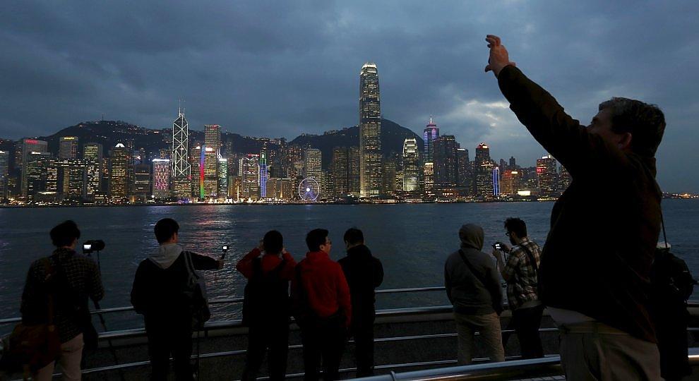 Hong Kong la più vista.   Foto
