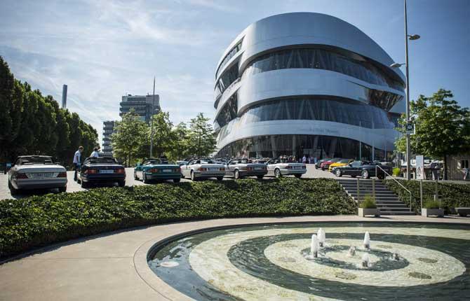 Museo Mercedes, che festa a Stoccarda