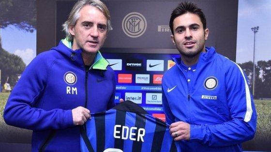 """Inter, ecco Eder: """"Per me un'opportunità enorme, pronto per il derby"""""""