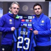 Inter, ecco Eder: