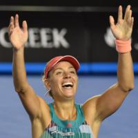 Tennis, Australian Open: sorpresa Kerber, Serena Williams ko in finale