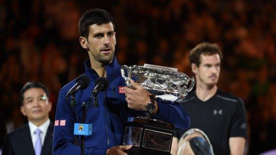 Tennis, Djokovic trionfa a Melbourne. Murray, un'altra finale amara