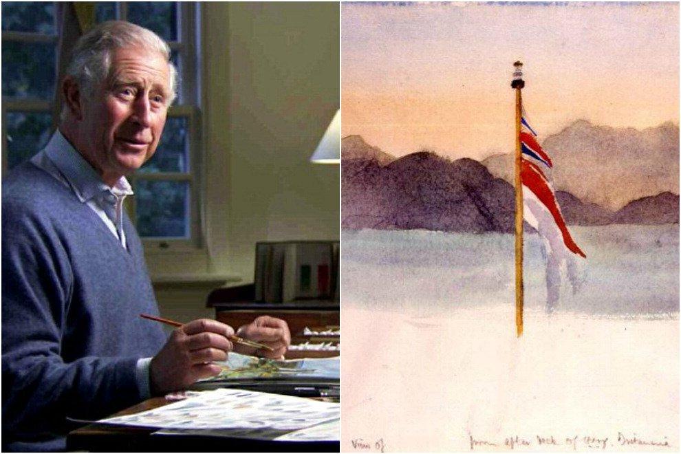Gb, Carlo principe artista: con i suoi quadri guadagna due milioni all'anno
