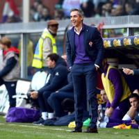 Genoa-Fiorentina, Sousa espulso: tocca la palla prima che esca dal campo