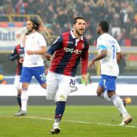 Bologna-Sampdoria 3-2, Destro fa arrabbiare Montella