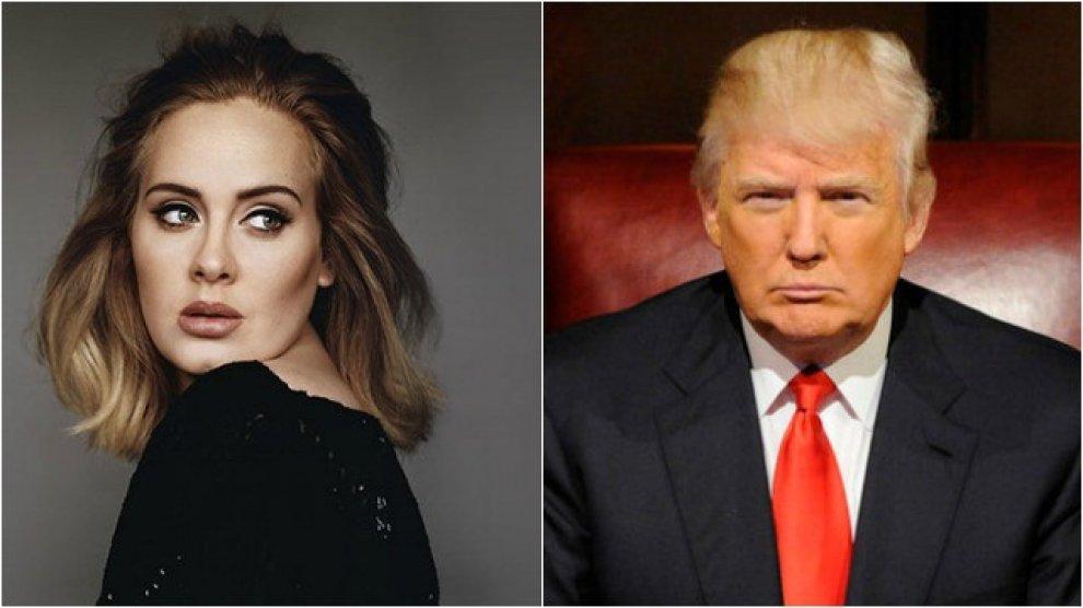 """Usa, Adele vieta a Trump di usare le sue hit: """"La mia musica non è per la politica"""""""