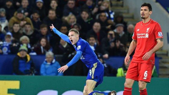 Inghilterra: Vardy show, il Leicester batte il Liverpool ed è sempre più leader