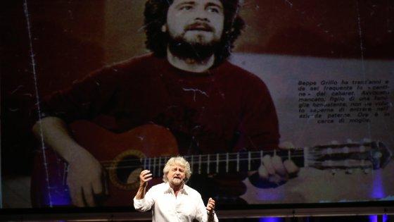 """Grillo torna sul palcoscenico: """"Scherzando sono diventato leader. Rivoglio la libertà, ma non vado via"""""""