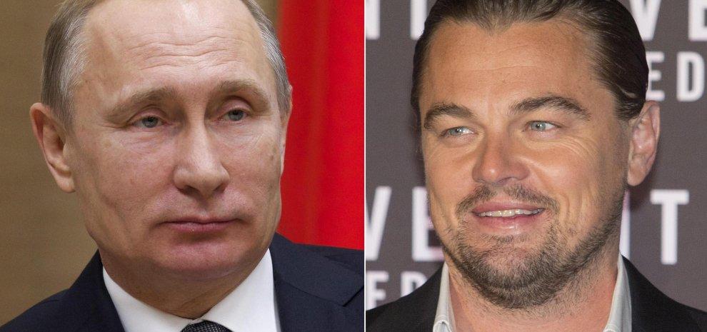 """DiCaprio-Putin, la casa di produzione smentisce biopic: """"Non è ancora deciso"""""""