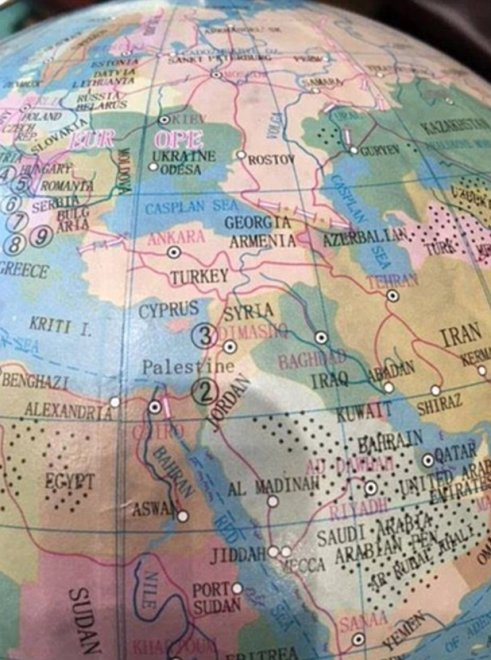 Australia, in vendita mappamondo senza Israele: scoppia la protesta