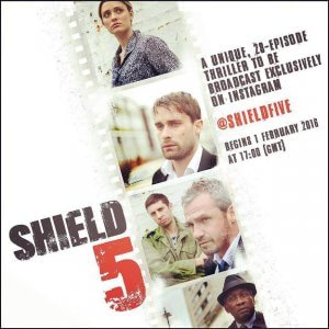 Shield 5, sbarca su Instagram la nanoserie: un thriller in 28 episodi da 15 secondi l'uno