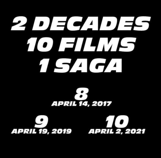 """Vin Diesel conferma nuova trilogia di """"Fast & Furious"""": 2017, 2019, 2021"""