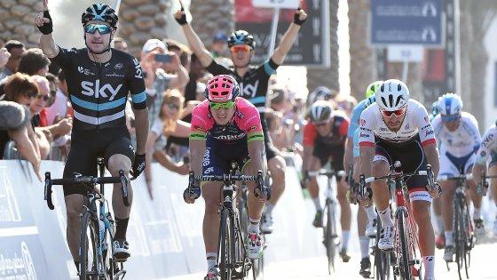 Ciclismo, Viviani su Modolo e Nizzolo: il Dubai Tour parla italiano