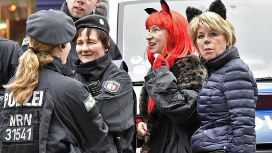 Colonia, il Carnevale è blindato: 2.500 poliziotti vigilano sulla festa