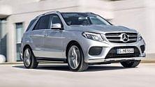 """Nuova Mercedes GLE,  """"Suv Attack"""" -   Foto"""