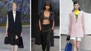 Trend: in primavera osa il cappotto senza maniche    Foto