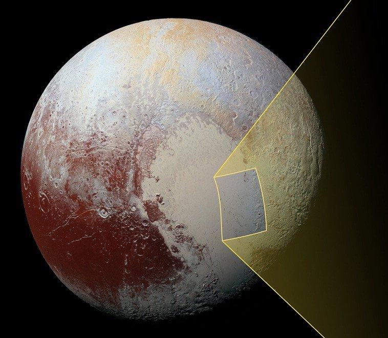 Plutone, colline come iceberg si muovono sul 'pianeta nano'