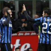 Inter, Icardi e Eder per svegliare l'attacco. Mancini ha trovato la coppia perfetta