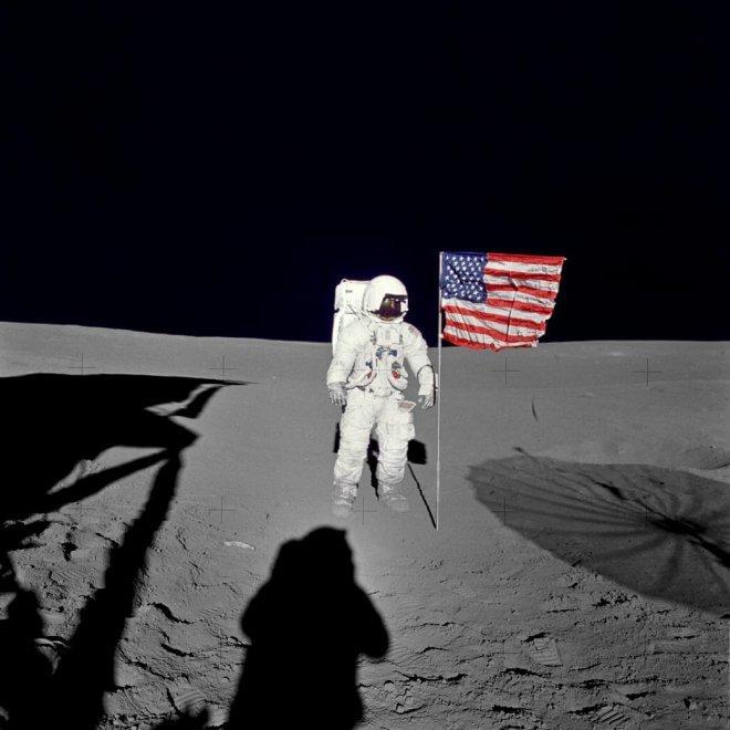 Morto Edgar Mitchell, sesto uomo sulla Luna: le foto della missione Apollo 14