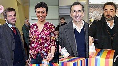 Primarie di centrosinistra a Milano   foto   ieri quasi 8mila votanti, 4% stranieri   foto