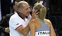 Giorgi vince, Errani ko  Francia-Italia sono sull'1-1