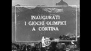 La fiaccola di Cortina  -   foto    60 anni fa i Giochi invernali    foto