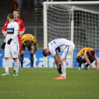 Verona-Inter 3-3: gol e spettacolo al Bentegodi, ma il pari non serve a nessuno