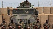 UN MURO DI SABBIA  DI 200 KM PER FERMARE L'ISIS