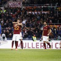 Roma-Sampdoria 2-1: i giallorossi avvicinano il terzo posto