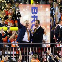 Super Bowl, la festa dei Denver Broncos