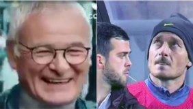 Totti scherza e Ranieri canta: le perle della settimana calcistica