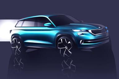 Škoda Vision S, il Suv che parla boemo
