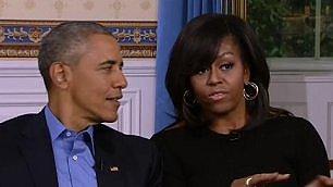 """""""Casa Bianca, qui non funziona  il wifi"""": l'intervista agli Obama"""