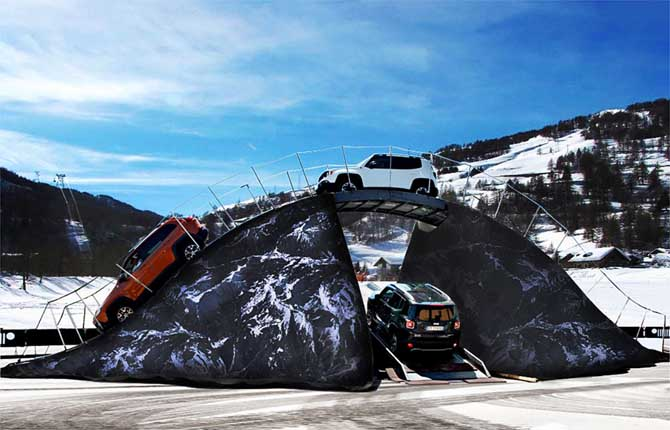 Jeep Winterproof Tour, in pista con i 4x4