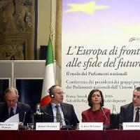 """Padoan: """"Europa vista come problema per il lavoro. Flessibilità non è scorciatoia"""""""