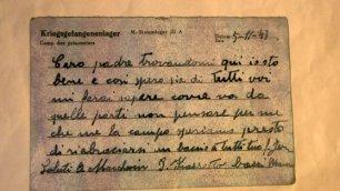 Dopo 72 anni arriva la lettera dal campo di concentramento