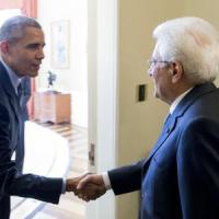 """Obama a Mattarella: """"Grazie Italia per la protezione della diga di Mosul"""""""