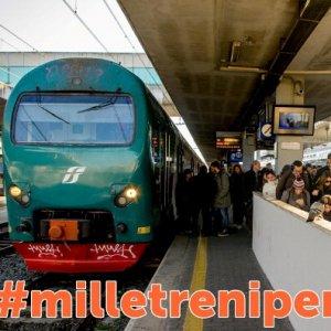 Mille treni pendolari: la campagna social contro lo smog e i disservizi ferroviari