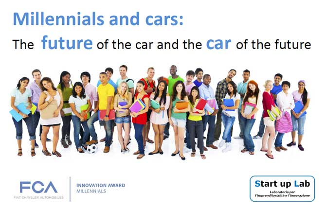 "Rush finale per ""Millennials and cars: the future of the car and the car of the future"""
