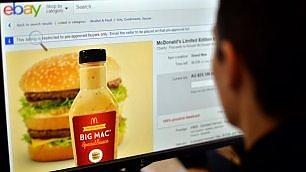 Tutti pazzi per la salsa Big Mac 82mila euro per una confezione